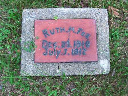 FOX, RUTH M. - Polk County, Iowa | RUTH M. FOX