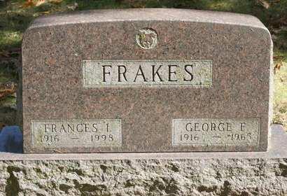 FRAKES, FRANCES  I. - Polk County, Iowa   FRANCES  I. FRAKES