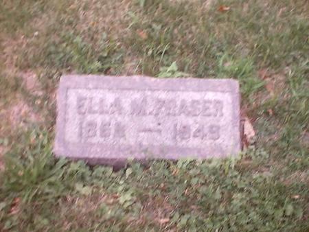 FRASER, ELLA M. - Polk County, Iowa   ELLA M. FRASER