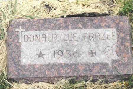 FRAZEE, DONALD LEE - Polk County, Iowa   DONALD LEE FRAZEE