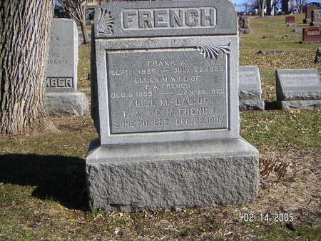 FRENCH, FRANK A - Polk County, Iowa | FRANK A FRENCH
