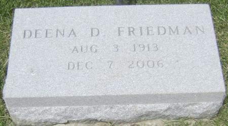 FRIEDMAN, DEENA D - Polk County, Iowa | DEENA D FRIEDMAN