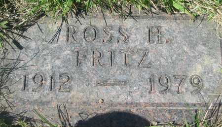 FRITZ, ROSS H. - Polk County, Iowa | ROSS H. FRITZ