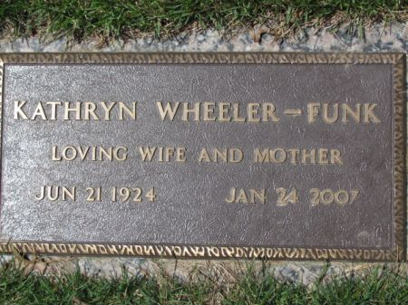 WHEELER FUNK, KATHRYN - Polk County, Iowa | KATHRYN WHEELER FUNK