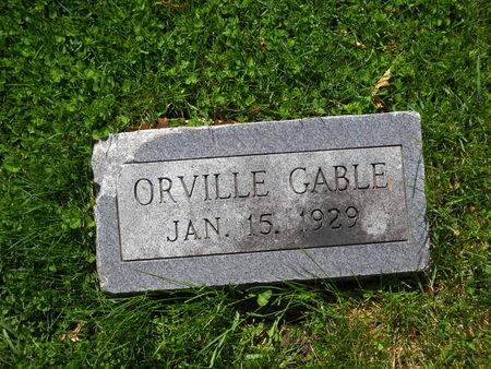 GABLE, ORVILLE - Polk County, Iowa | ORVILLE GABLE