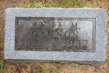 GANNON, ANNA M. - Polk County, Iowa   ANNA M. GANNON