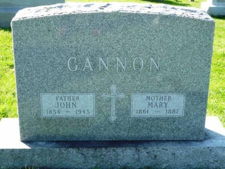 GANNON, MARY - Polk County, Iowa | MARY GANNON