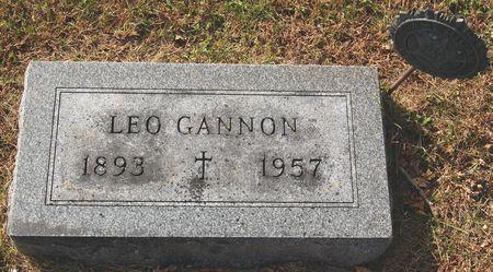 GANNON, LEO - Polk County, Iowa | LEO GANNON