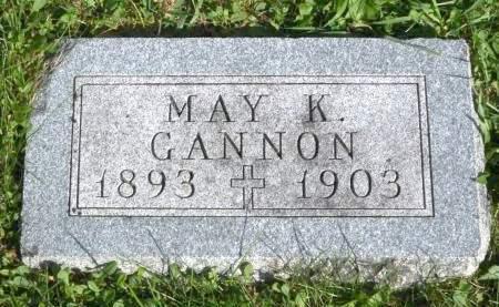 GANNON, MAY K. - Polk County, Iowa | MAY K. GANNON