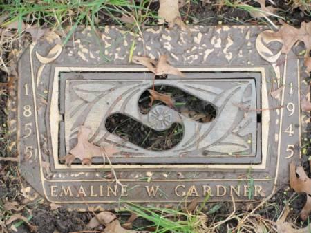 GARDNER, EMALINE  W. - Polk County, Iowa   EMALINE  W. GARDNER