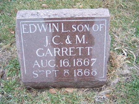 GARRETT, EDWIN L. - Polk County, Iowa | EDWIN L. GARRETT