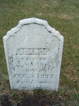 GARRETT, JOAN J. - Polk County, Iowa   JOAN J. GARRETT