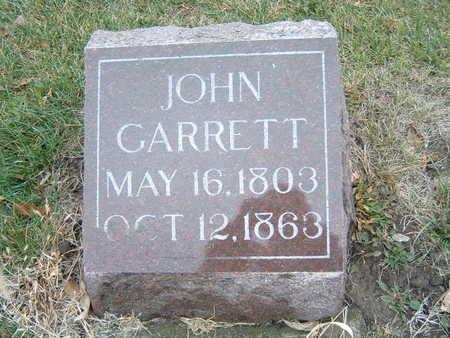 GARRETT, JOHN - Polk County, Iowa | JOHN GARRETT