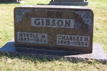 MORGAN GIBSON, MYRTLE - Polk County, Iowa   MYRTLE MORGAN GIBSON