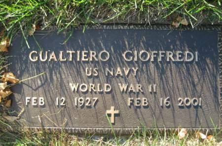 GIOFFREDI, GUALTIERO - Polk County, Iowa | GUALTIERO GIOFFREDI