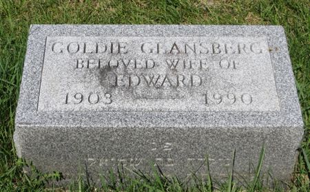 GLANSBERG, GOLDIE - Polk County, Iowa | GOLDIE GLANSBERG