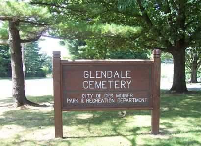 GLENDALE, CEMETERY - Polk County, Iowa | CEMETERY GLENDALE