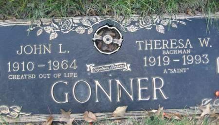 GONNER, THERESA W - Polk County, Iowa | THERESA W GONNER