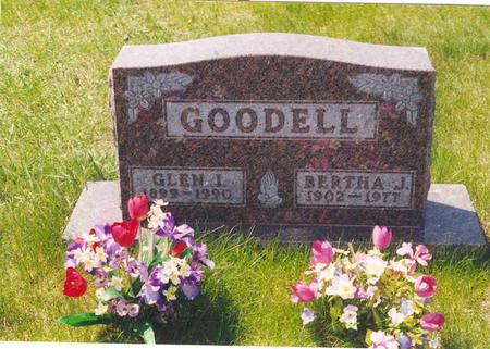 VANCE GOODELL, BERTHA - Polk County, Iowa | BERTHA VANCE GOODELL