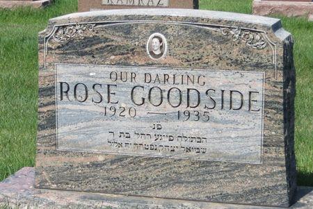 GOODSIDE, ROSE - Polk County, Iowa | ROSE GOODSIDE