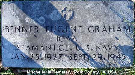 GRAHAM, BENNER EUGENE - Polk County, Iowa | BENNER EUGENE GRAHAM