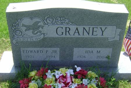 GRANEY, IDA M - Polk County, Iowa   IDA M GRANEY
