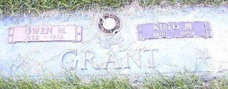 GRANT, OWEN M. - Polk County, Iowa | OWEN M. GRANT