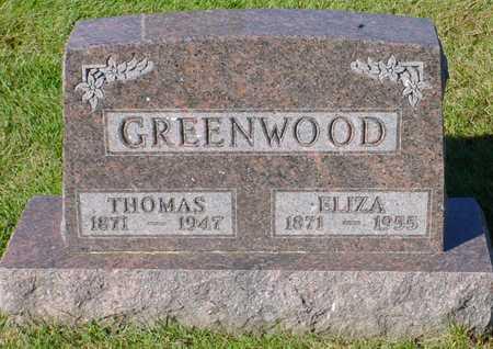 GREENWOOD, ELIZA - Polk County, Iowa | ELIZA GREENWOOD