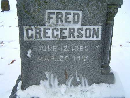 GREGERSON, FRED - Polk County, Iowa   FRED GREGERSON
