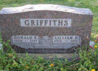 GRIFFITHS, DONALD - Polk County, Iowa   DONALD GRIFFITHS