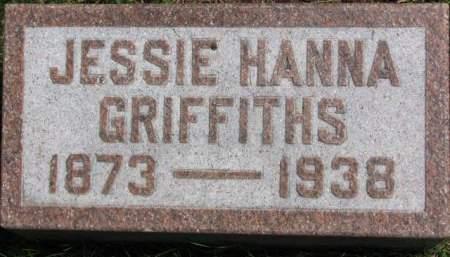 HANNA GRIFFITHS, JESSIE  R. - Polk County, Iowa | JESSIE  R. HANNA GRIFFITHS