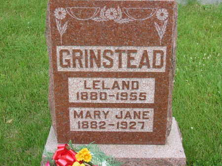 GRINSTEAD, LELAND - Polk County, Iowa | LELAND GRINSTEAD