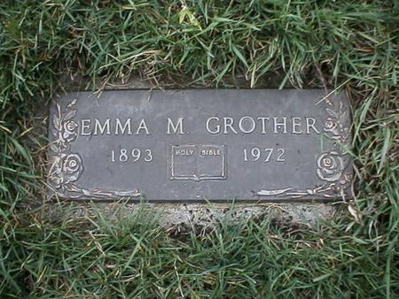 GROTHER, EMMA - Polk County, Iowa | EMMA GROTHER