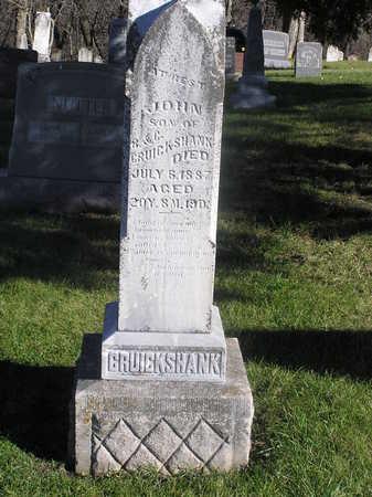 GRUICKSHANK, JOHN - Polk County, Iowa | JOHN GRUICKSHANK