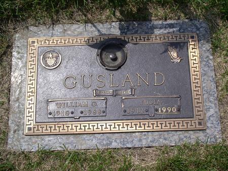 GUSLAND, WILLIAM G - Polk County, Iowa | WILLIAM G GUSLAND
