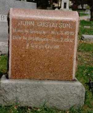 GUSTAFSON, JOHN - Polk County, Iowa | JOHN GUSTAFSON