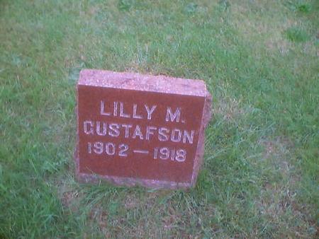 GUSTAFSON, LILLY M. - Polk County, Iowa | LILLY M. GUSTAFSON