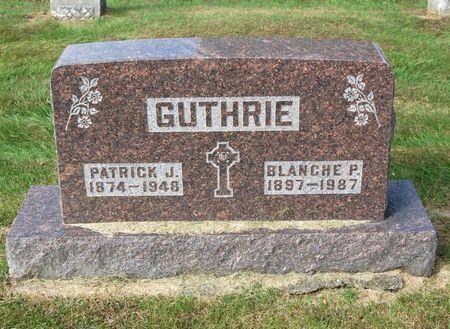 GUTHRIE, BLANCHE P. - Polk County, Iowa | BLANCHE P. GUTHRIE
