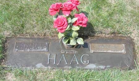 HAAG, GEORGE JOHN - Polk County, Iowa | GEORGE JOHN HAAG