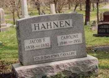 HAHNEN, FRED - Polk County, Iowa | FRED HAHNEN