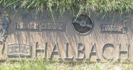 HALBACH, WILLIAM F - Polk County, Iowa | WILLIAM F HALBACH
