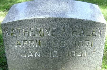 HALEY, KATHERINE A - Polk County, Iowa | KATHERINE A HALEY