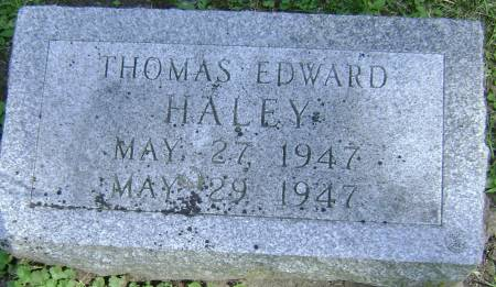 HALEY, THOMAS EDWARD - Polk County, Iowa | THOMAS EDWARD HALEY