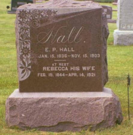 HALL, EPHRAIM PORTER & REBECCA JANE - Polk County, Iowa | EPHRAIM PORTER & REBECCA JANE HALL