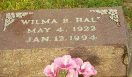 HALL, WILMA RUTH - Polk County, Iowa | WILMA RUTH HALL