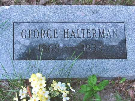 HALTERMAN, GEORGE - Polk County, Iowa | GEORGE HALTERMAN