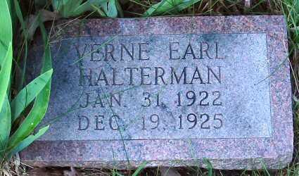 HALTERMAN, VERNE EARL - Polk County, Iowa | VERNE EARL HALTERMAN