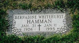 HAMMAN, BERNADINE - Polk County, Iowa | BERNADINE HAMMAN