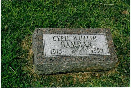 HAMMAN, CYRIL WILLIAM - Polk County, Iowa | CYRIL WILLIAM HAMMAN
