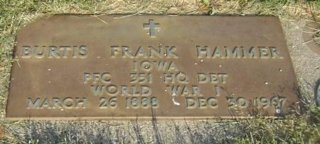 HAMMER, BURTIS FRANK - Polk County, Iowa | BURTIS FRANK HAMMER